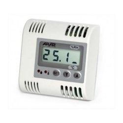 Termometr przemysłowy analogowy APAR AR556 czujnik temperatury wewnętrzny wyjście prądowe wyświetlacz LCD