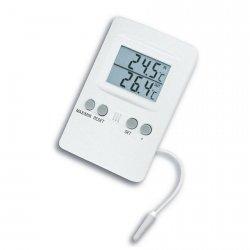 TFA 30.1024 termometr elektroniczny z zewnętrznym czujnikiem przewodowym
