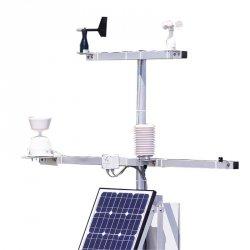 Stacja solarna z transmisją GPRS/GSM PM Ecology RADIO SOLAR stacja pomiarowa on-line promieniowania słonecznego