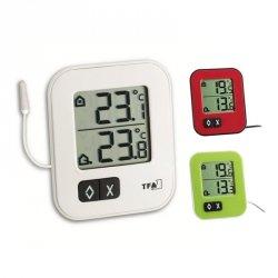 Termometr elektroniczny TFA 30.1043 MOXX z zewnętrznym czujnikiem przewodowym
