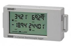 Rejestrator 4-kanałowy temperatury HOBO UX120-014M z gniazdami sond termoparowych