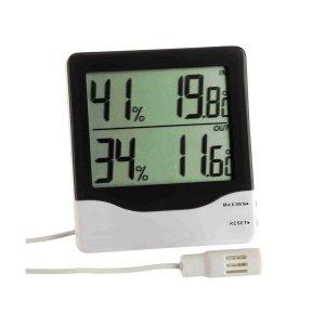 TFA 30.5013 termohigrometr elektroniczny z zewnętrznym czujnikiem przewodowym