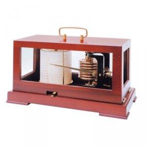 Fischer 285M barograf aneroid ozdobny profesjonalny tradycyjny rejestrator ciśnienia mechaniczny ekskluzywny barometr samopiszący