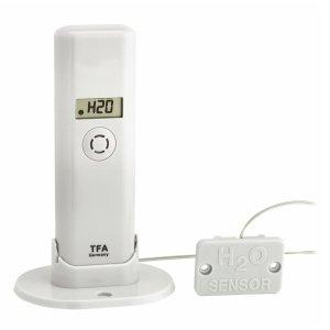 TFA 30.3305 czujnik temperatury i wilgotności bezprzewodowy z sondą detekcji wody do WeatherHub Smart Home