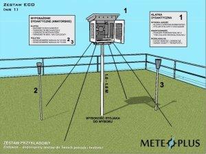Ogródek meteorologiczny dydaktyczny szkolny MeteoPlus EKO