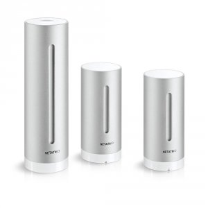 Netatmo Weather Station stacja pogody internetowa inteligentna stacja meteo on-line WiFi