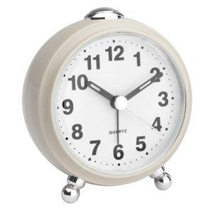 TFA 60.1030 budzik biurkowy zegarek wskazówkowy płynąca wskazówka sterowany radiowo