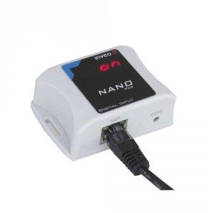 Inveo NanoIn Ethernet  konwerter sygnału przekaźnik do moduł zdalnego odczytu stanu wejścia
