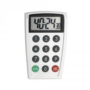 TFA 38.2026 minutnik elektroniczny z funkcją stopera i klawiaturą numeryczną