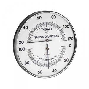 TFA 40.1032 termohigrometr do sauny ścienny mechaniczny DUŻY 130 mm