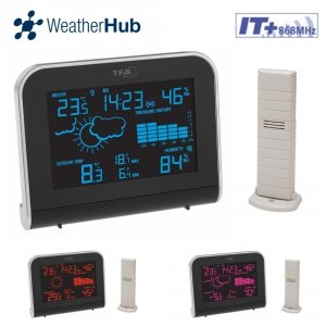 TFA 35.1148 SPHERE stacja pogodowa bezprzewodowa kolorowa WeatherHub Smart Home