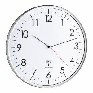 TFA 60.3514 zegar ścienny wskazówkowy sterowany radiowo średnica 33 cm