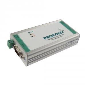 Papouch PROCONV konwerter przemysłowy RS232/RS485/RS422 moduł konfiguracyjny komunikacji szeregowej