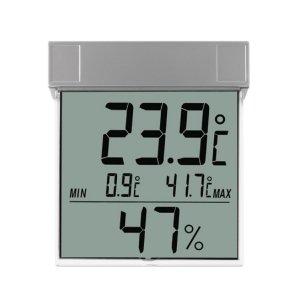 TFA 30.5020 VISION termohigrometr elektroniczny okienny przyklejany max/min