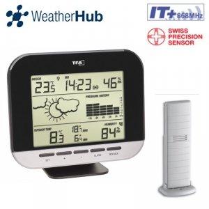 TFA 35.1143 CONNECT stacja pogody bezprzewodowa WeatherHub