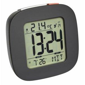 TFA 60.2542 budzik biurkowy zegar elektroniczny sterowany radiowo