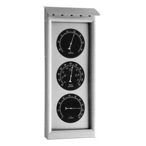 TFA 20.2038 stacja pogody tradycyjna mechaniczna klasyczna zewnętrzna Inox