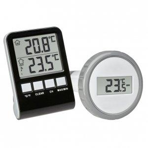 TFA 30.3067 PALMA termometr basenowy bezprzewodowy do 3 czujników basenowych