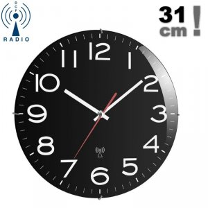 TFA 60.3509 zegar ścienny wskazówkowy sterowany radiowo 31 cm