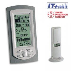 TFA 35.1045 LALUNA stacja pogody bezprzewodowa z czujnikiem zewnętrznym błyskawiczna transmisja
