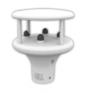 GILL MaxiMet GMX 200 wiatromierz ultradźwiękowy czujnik prędkości i kierunku wiatru anemometr Modbus