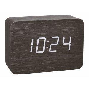 TFA 60.2549 CLOCCO  budzik biurkowy zegar elektroniczny sterowany radiowo z czujnikiem temperatury