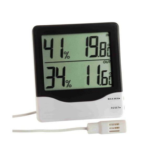 Termohigrometr elektroniczny TFA 30.5013 z zewnętrznym czujnikiem przewodowym