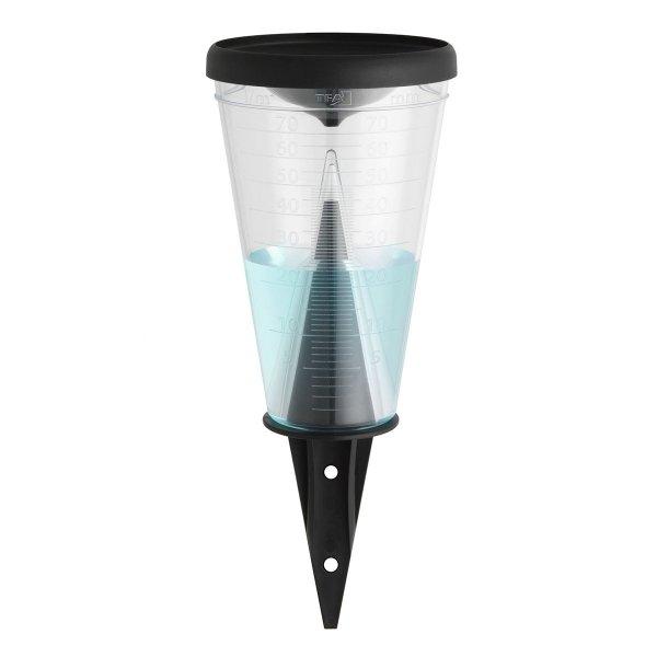 TFA 47.1008 deszczomierz manualny plastikowy 70 mm z pokrywą lejkową