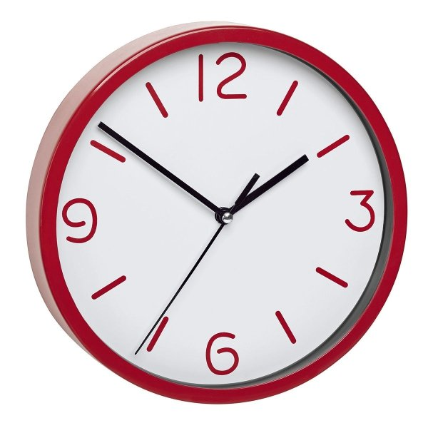 TFA 60.3033 zegar ścienny wskazówkowy płynąca wskazówka średnica 20 cm