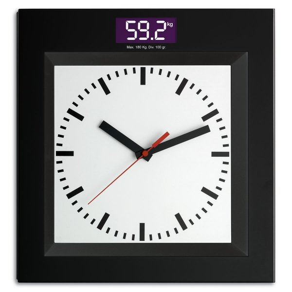 TFA 60.3000 waga łazienkowa elektroniczna osobowa z zegarem wskazówkowym