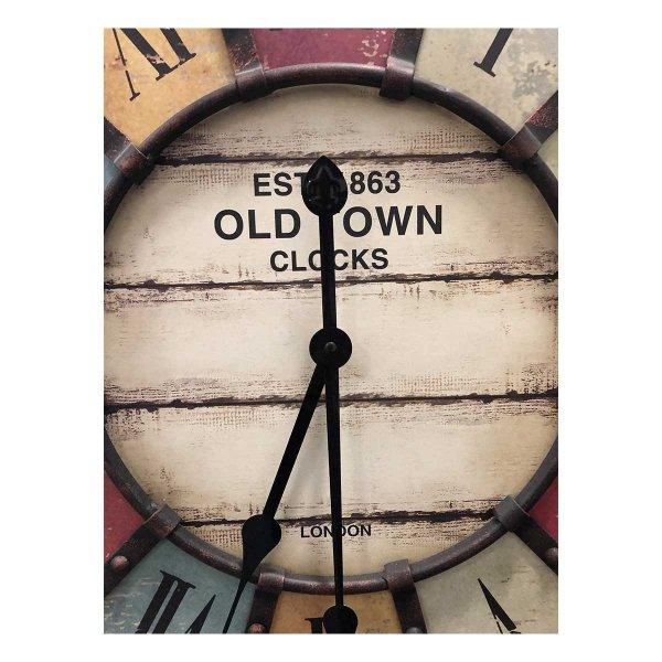 TFA 60.3021 VINTAGE zegar ścienny wskazówkowy XXL 60 cm