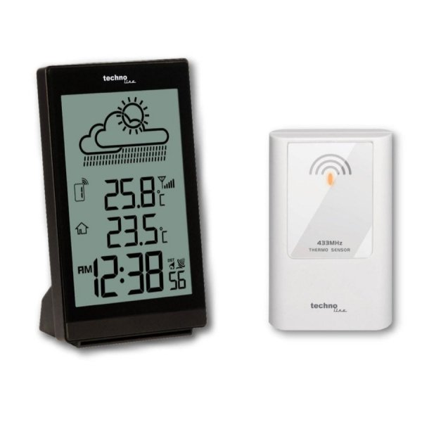 TechnoLine WS 9251 stacja pogody bezprzewodowa  z czujnikiem zewnętrznym