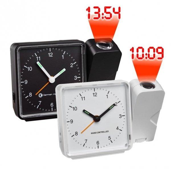 Budzik zegar biurkowy TFA 60.5012 z projektorem