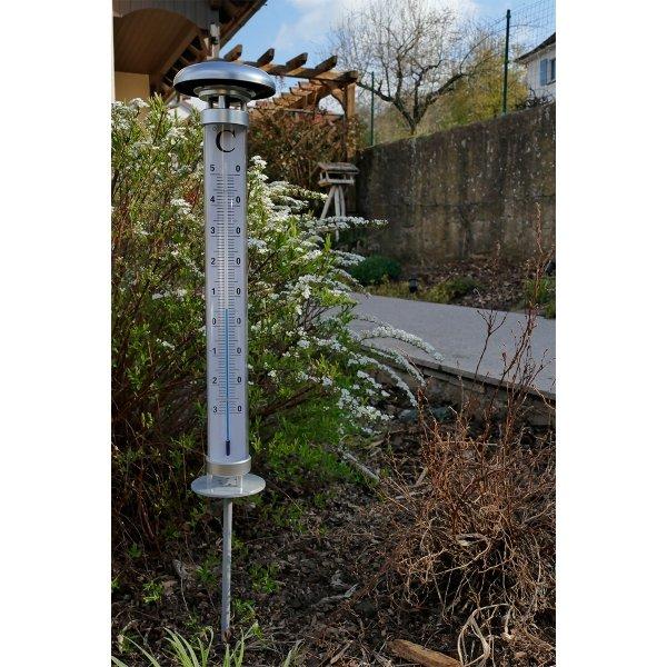 TFA 12.2057 SOLINO termometr ogrodowy podświetlany cieczowy bardzo duży 109 cm