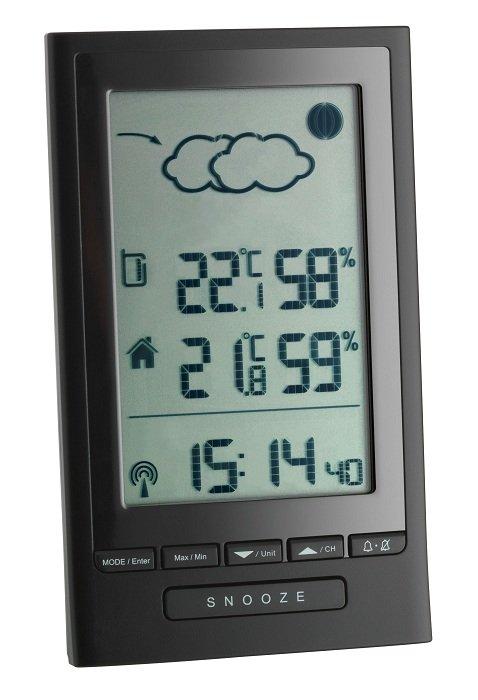 TFA 35.1122 MODUS PLUS stacja pogody bezprzewodowa z czujnikiem zewnętrznym