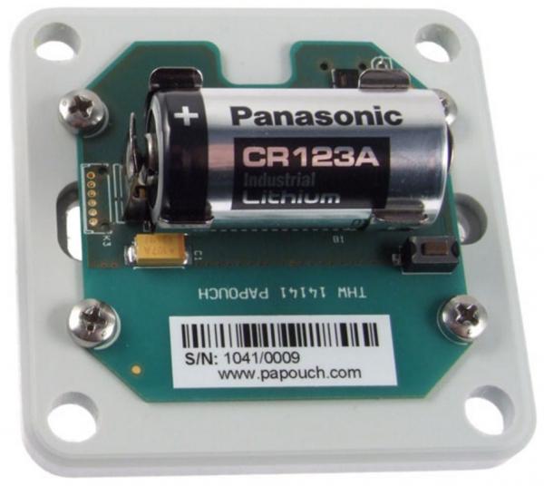 Papouch THW termohigrometr przemysłowy bezprzewodowy 868 MHz czujnik temperatury i wilgotności radiowy wewnętrzny