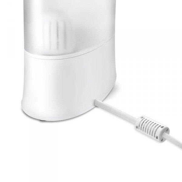 Nawilżacz powietrza Airbi TWIN ultradźwiękowy, jonizator, aromadyfuzer, biały