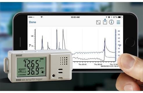 Rejestrator temperatury i wilgotności HOBO MX1101 bezprzewodowy Bluetooth