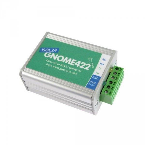 Papouch GNOME422 konwerter sygnału RS422 do Ethernet izolowany galwanicznie