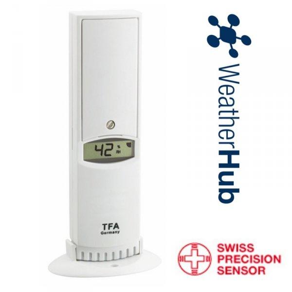 TFA 30.3312 czujnik temperatury i wilgotności bezprzewodowy lini PRO do WeatherHub
