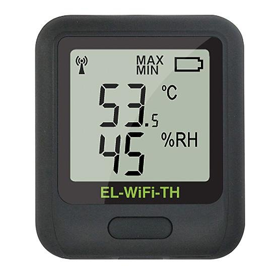 Corintech EL-WiFi-TH+ rejestrator temperatury i wilgotności internetowy data logger WiFi, IP, Ethernet