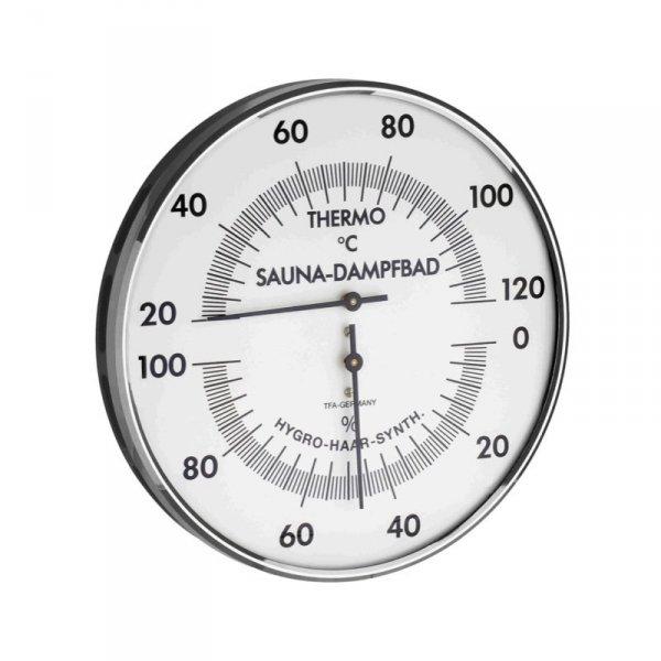 Termohigrometr do sauny TFA 40.1032 ścienny mechaniczny DUŻY 130 mm