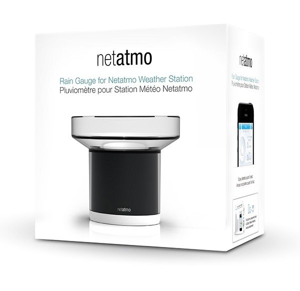 Stacja pogody internetowa Netatmo Weather Station + Rain Module inteligentna stacja meteo on-line WiFi