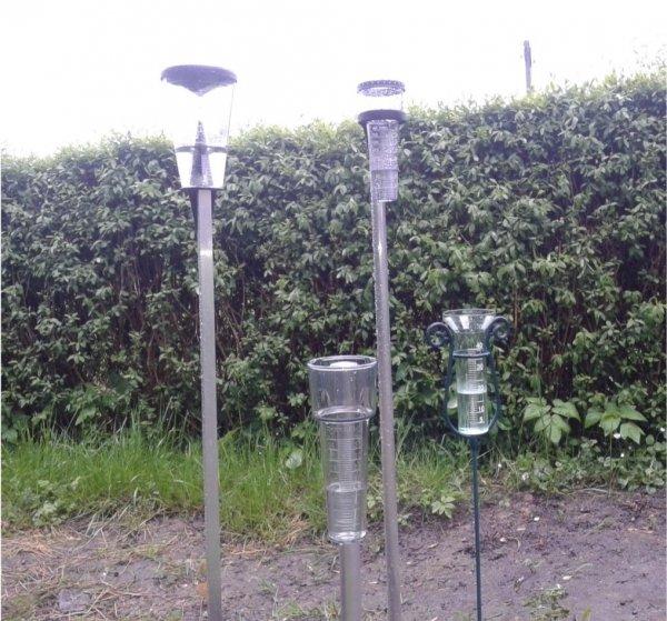TFA 47.1000 deszczomierz plastikowy manualny 40 mm tradycyjny