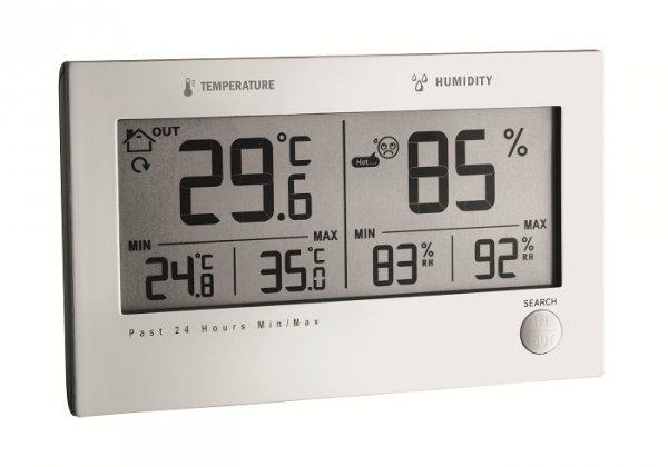 TFA 30.3049 TWIN PLUS termohigrometr bezprzewodowy z czujnikiem zewnętrznym