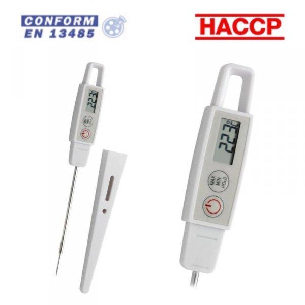 Termometr kuchenny TFA 30.1040 elektroniczny z sondą szpilkową do żywności 105 mm
