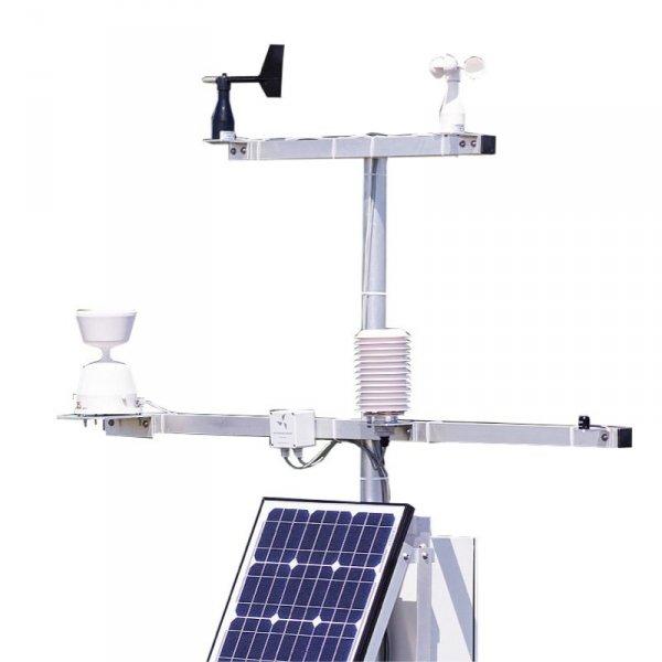 PM Ecology RADIO SOLAR stacja solarna z transmisją GPRS/GSM stacja pomiarowa on-line promieniowania słonecznego