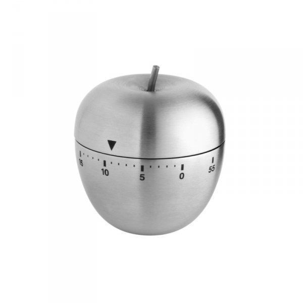 TFA 38.1030 APPLE minutnik mechaniczny w kształcie jabłka stal nierdzewna