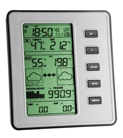 TFA 35.1077 STRATOS stacja pogody bezprzewodowa zewnętrzna wiatr, opady