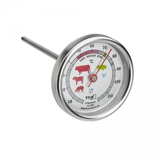 TFA 14.1028 termometr kuchenny mechaniczny do kontroli temperatury mięsa